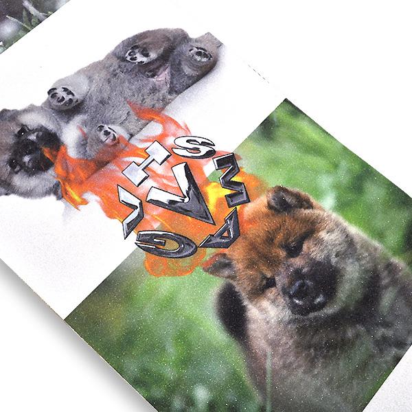 【instant × VHS MAG】 Collaboration GRIPTAPE 2021 インスタント スケートボード スケボー グリップテープ オリジナル