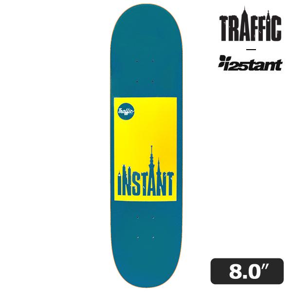 【TRAFFIC SKATEBOARDS × instant】 INSTANT CITY artwork by Hiroki Muraoka 8.0インチ インスタント トラフィック スケートボード スケボー デッキ SKATEBOARD