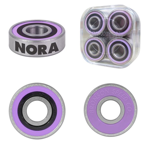 【BRONSON SPEED CO.】 NORA VASCONCELLO Pro G3 bearing  ブロンソン ベアリング スケートボード スケボー SKATEBOARD BEARING