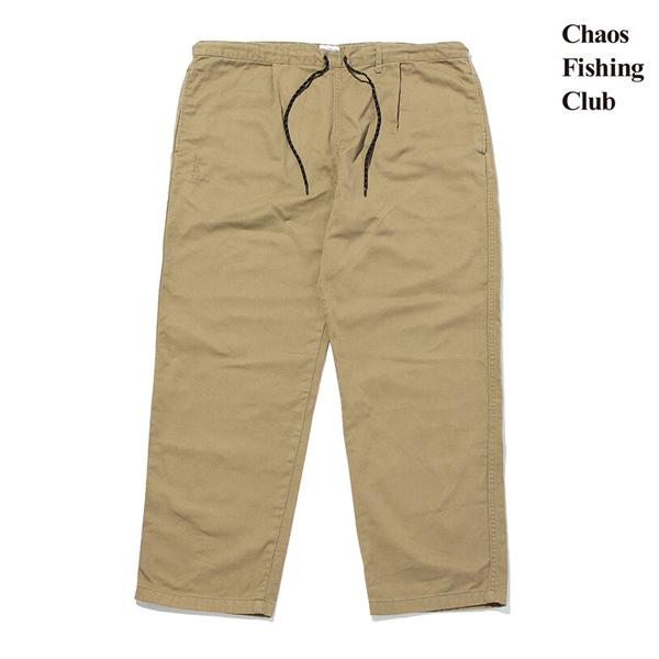 【Chaos Fishing Club】 LUCKY EASY PANTS カラー:khaki カオスフィッシングクラブ イージーパンツ スケートボード スケボー SKATEBOARD