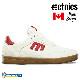 【Etnies】 VEER -MATT BERGER-  カラー:wht/red/gum   エトニーズ ヴィアー マット・バーガー ミシュラン  スケートボード スケボー シューズ 靴 スニーカー SKATEBOARD SHOES