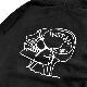 【instant】 Mark Gonzales HOODIE カラー:black インスタント マーク・ゴンザレス ゴンズ パーカー プルオーバー フーディー スケートボード スケボー SKATEBOARD