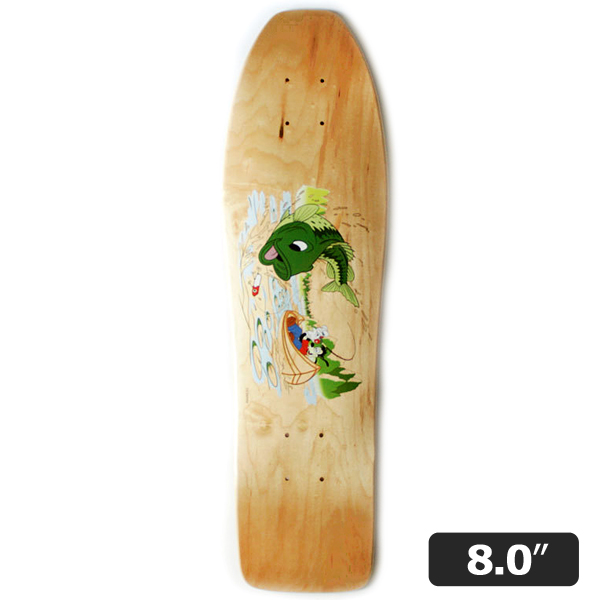 【BLUTH SKATEBOARDS×DISNEY】 Pushmaster -MAX-  8.0インチ ブルース ディズニー   スケートボード スケボー デッキ  SKATEBOARD DECK