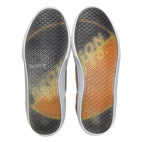 【Emerica×BRONSON】 WINO G6 SLIP-ON  カラー:orange   エメリカ ブロンソン ワイノ スリッポン  スケートボード スケボー SKATEBOARD  シューズ 靴 スニーカー