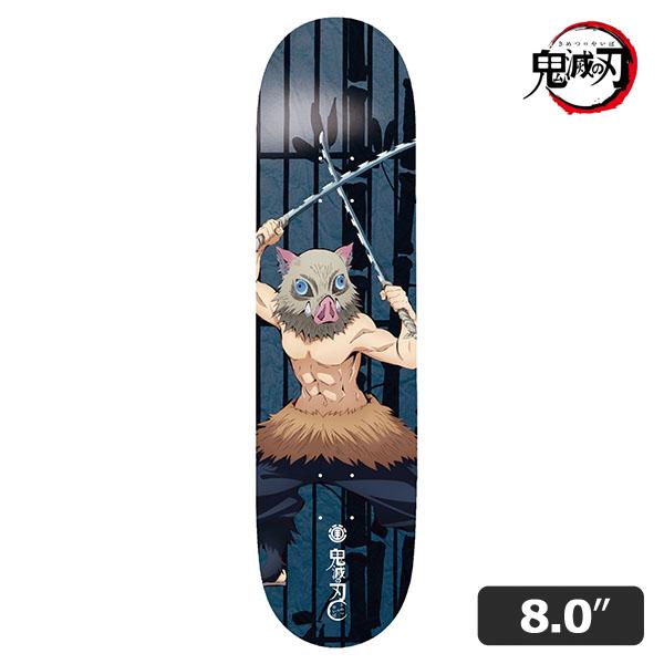 【ELEMENTx鬼滅の刃】INOSUKE 1 DECK 8.0インチ エレメント 伊之助 スケートボード スケボー デッキ SKATEBOARD DECK