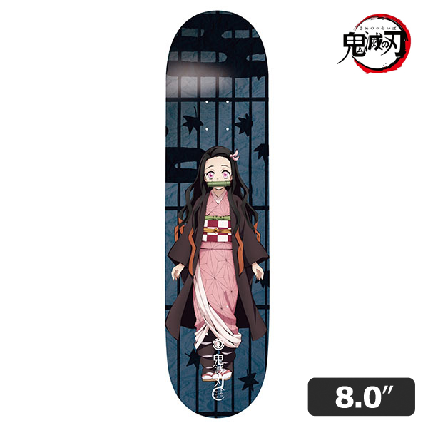 【ELEMENTx鬼滅の刃】NEZUKO 1 DECK 8.0インチ エレメント 禰豆子 スケートボード スケボー デッキ SKATEBOARD DECK