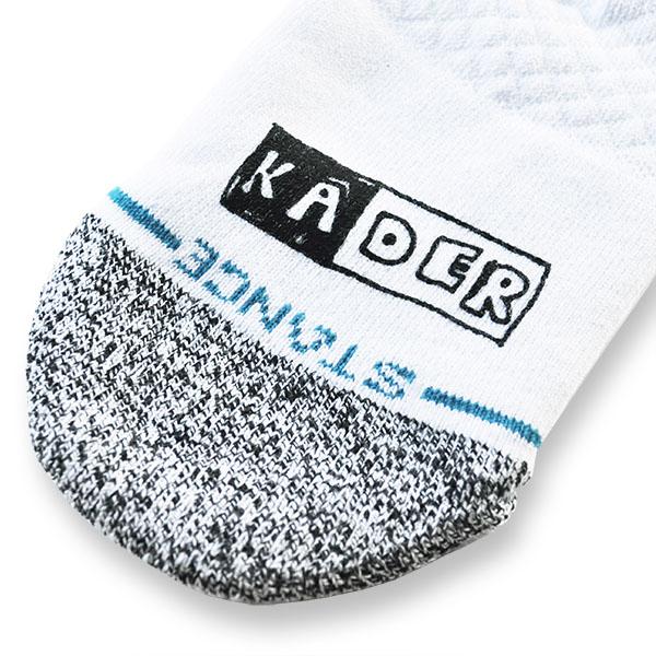 【STANCE】KADER SPLIT <Kader Sylla Signature model> スタンス ケイダ—・シラ ソックス 靴下 スケートボード スケボー SKATEBOARD