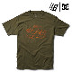 【DC Shoe×BRONZE 56K】 LUKODA 56K SS  <DC Shoe×BRONZE 56K COLLECTION > カラー:GLW0  ディーシー ブロンズ56K Tシャツ 半袖  スケートボード スケボー SKATEBOARD