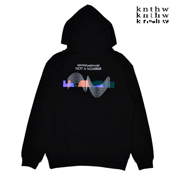 【KNTHW】 NOT A NUMBER HOODIE  カラー:black   ケント ハードウェア  フード パーカー プルオーバー  スケートボード スケボー SKATEBOARD