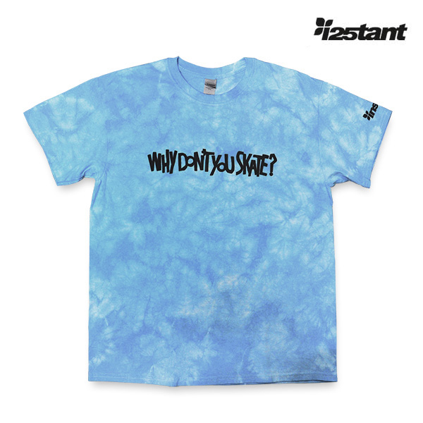 【instant】 instant SBY TEE  -Why don't you skate?- カラー:blue   インスタント Tシャツ 半袖  スケートボード スケボー SKATEBOARD