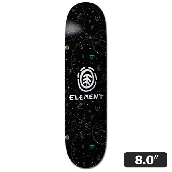 【ELEMENT】GALAXY 8.0インチ エレメント スケートボード スケボー デッキ SKATEBOARD DECK