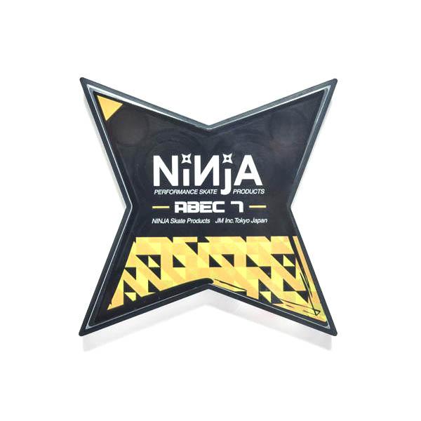 【NINJA】BEARING ABEC7 OIL TYPE ニンジャ ベアリング スケートボード スケボー SKATEBOARD