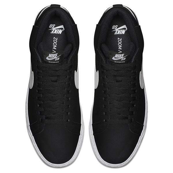 【NIKE SB】ZOOM BLAZER MID カラー:black/white-white 864349-002 ナイキ エスビー ブレイザー  スケートボード スケボー シューズ 靴 スニーカー SKATEBOARD SHOES