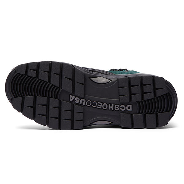 【DC Shoe×POP TRADING CO】POP NAVIGATOR カラー:black/green(BGN) ディーシー ポップトレーディング 靴 スニーカー スケートボード スケボー  SKATEBOARD SHOES
