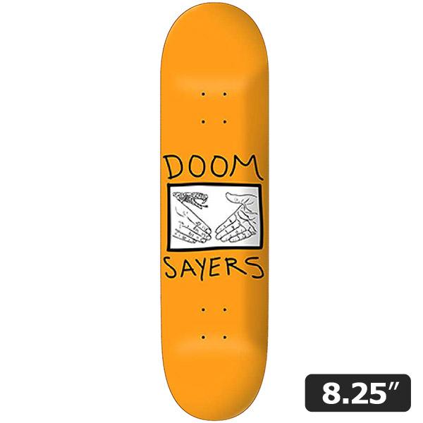 【DOOM SAYERS】SNAKE SHAKE 8.25インチ ドゥームセイヤーズ スケートボード スケボー デッキ SKATEBOARD DECK