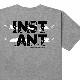 【instant】 25th GRIPTAPE TEE by MHAK  instant インスタント スケートボード スケボー Tシャツ オリジナル
