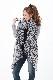 スカーフ シルク100% 大判 ストール マフラー シフォン 【ヒョウ柄(ホワイト)A】白 ホワイト 黒 ブラック レオパード アニマル 豹柄 絹 天然素材 敏感肌 紫外線防止 UV 防寒 パーティー ドレス 【Aサイズ:245×135cm】 送料無料