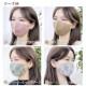マスク シルク100% コーデュロイ マスクケース付き 耳紐調節可 小顔効果 秋冬マスク 洗える 天然素材