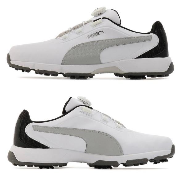 プーマ ゴルフシューズ ドライブ フュージョン ディスク メンズ 192226 日本正規品 2019年モデル