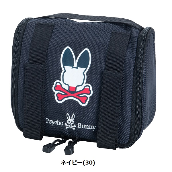 サイコバニー Psycho Bunny カートフックケース ANNIVERSARY LOGO CART HOOK CASE PBMG0SB9