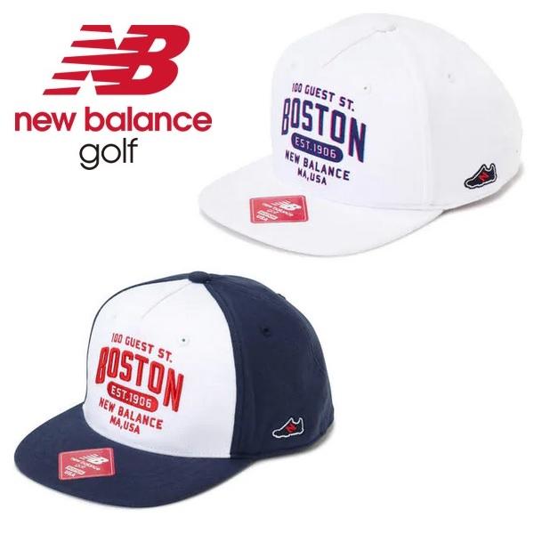 ニューバランス ゴルフ newbalance golf フラットブリム キャップ レディース 012-0187506 2020年モデル