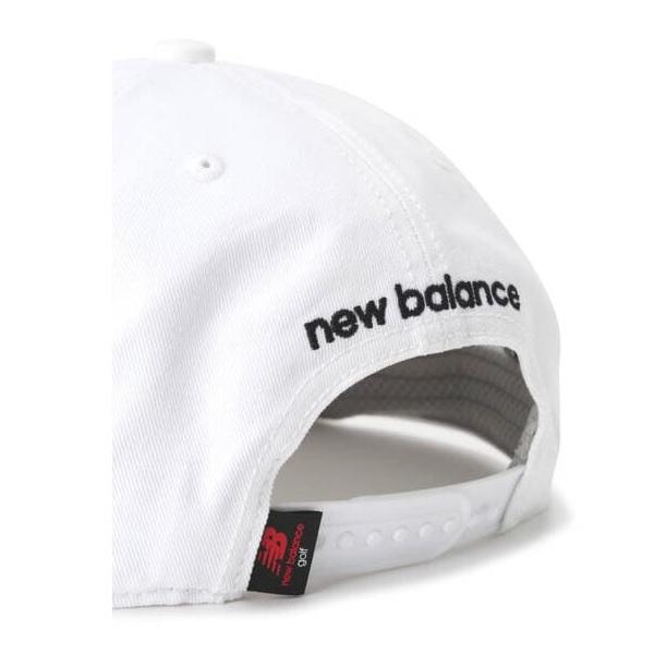ニューバランス ゴルフ newbalance golf フラットブリムキャップ メンズ 2020年モデル 012-0987003