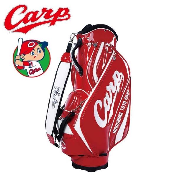 広島東洋カープ ゴルフ キャディバッグ HCCB-0545 レザックス 2020年モデル