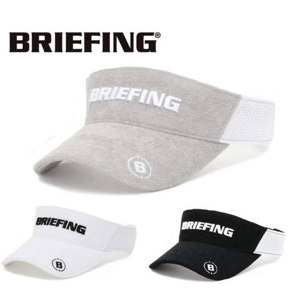 BRIEFING ブリーフィング ゴルフ キャップ パイルバイザー メンズ BRG201M54