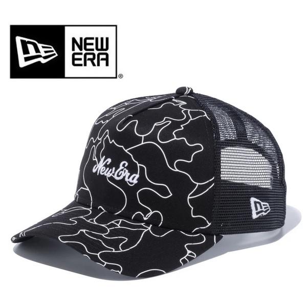 NEWERA ニューエラ キャップ カー ハンターラインカモ New Era ロゴ ブラック 12325970