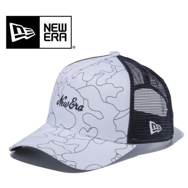 NEWERA ニューエラ キャップ カー ハンターラインカモ New Era ロゴ ホワイト 12325969