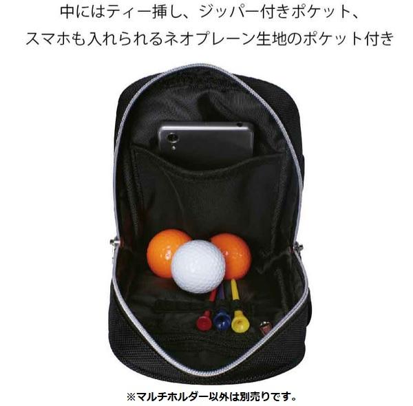広島東洋カープ ゴルフ マルチホルダー HCAC-0548 レザックス 2020年モデル