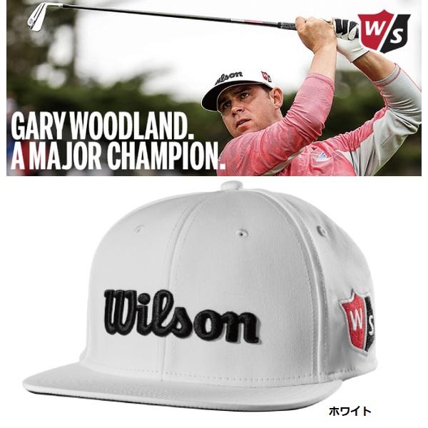ウィルソン ゴルフ キャップ フラットブリムキャップ WSC-1932