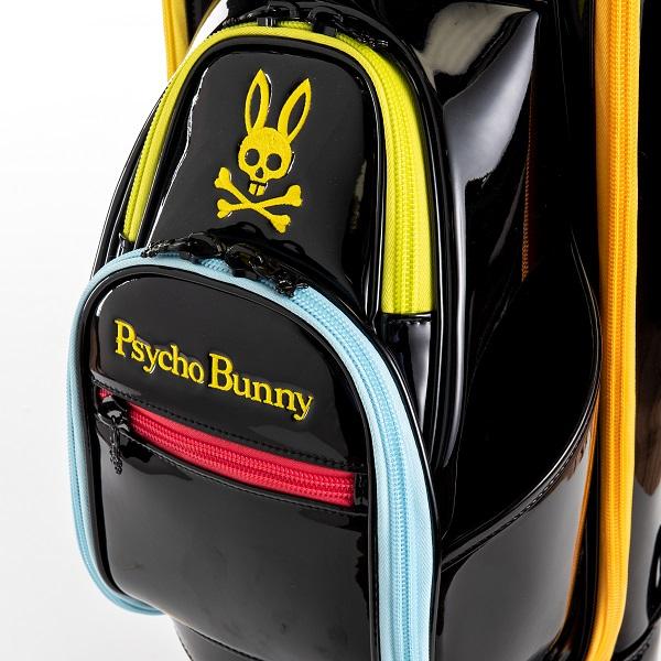サイコバニー PsychoBunny キャディバッグ PB モザイク バニー キャディバッグ PBMG0FC1 2020年発売