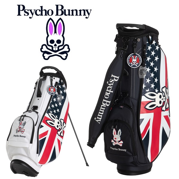 サイコバニー PsychoBunny キャディバッグ A/A FLAG SPORT スタンド キャディバッグ PBMG0FC3 2020年発売