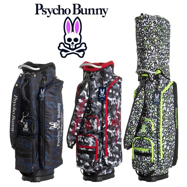 サイコバニー PsychoBunny キャディバッグ スポーツPOLYPHONIC キャディバッグ PBMG0FC7 2020年発売