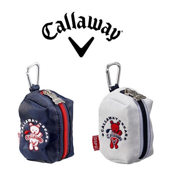 キャロウェイ ゴルフ ベア ボールケース 20 JM 数量限定モデル Callaway Bear Ball Case SS 20 JM