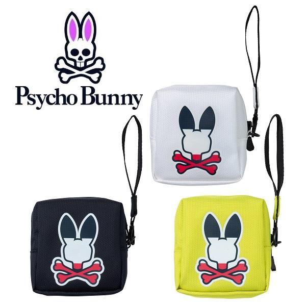 サイコバニー Psycho Bunny ポーチ ANNIVERSARY LOGO BALL POUCH PBMG0SB5