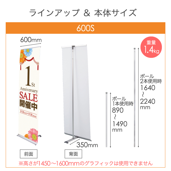 Iバナーライト 600S