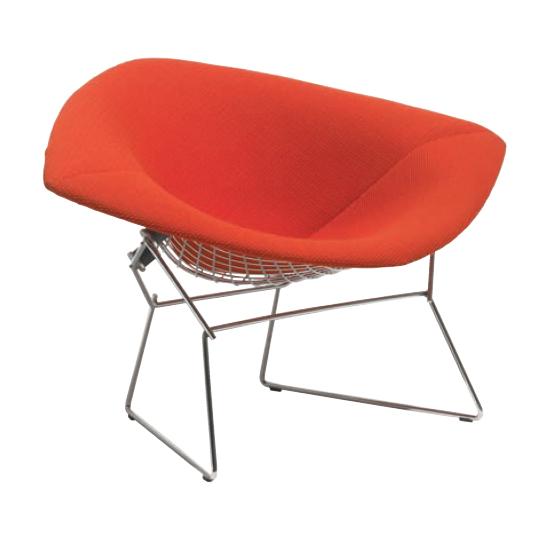 Bertoia Collection Lounge Seating -Large Diamond Armchair-