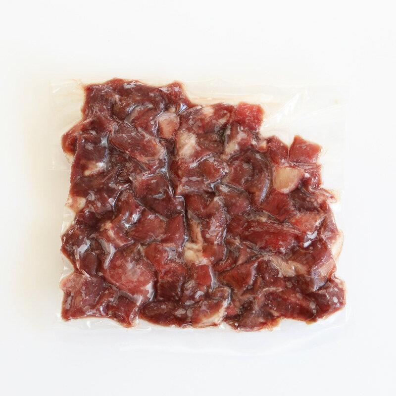 【生肉】 冷凍 ダチョウ ダイス 100g