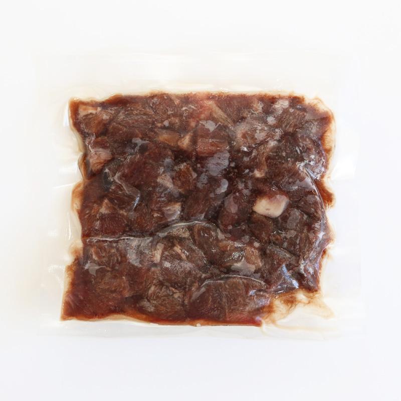 【生肉】 冷凍 エゾ鹿肉 ダイス 100g