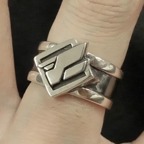 イメージアクセサリ「フェザー製リング」silver925本格仕様