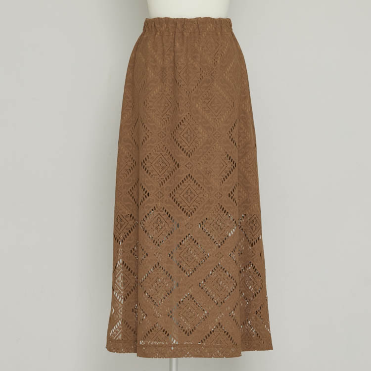 【2021SS NEW】Lace Long Skirt