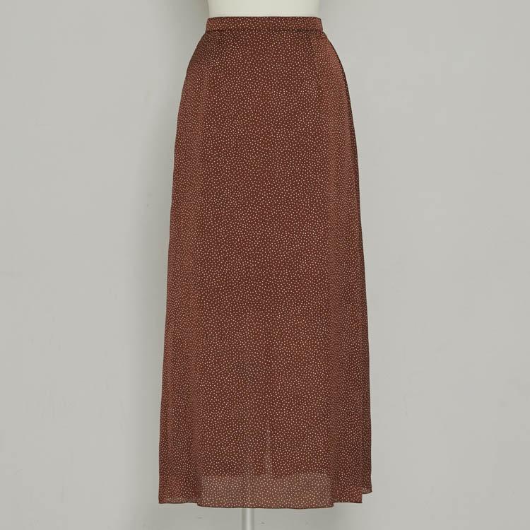 【2021SS NEW】Dot Long Skirt