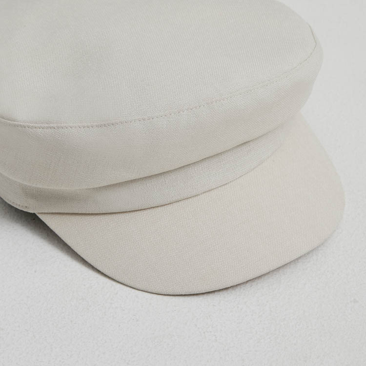 【2021SS NEW】Linen Like Marine Cap