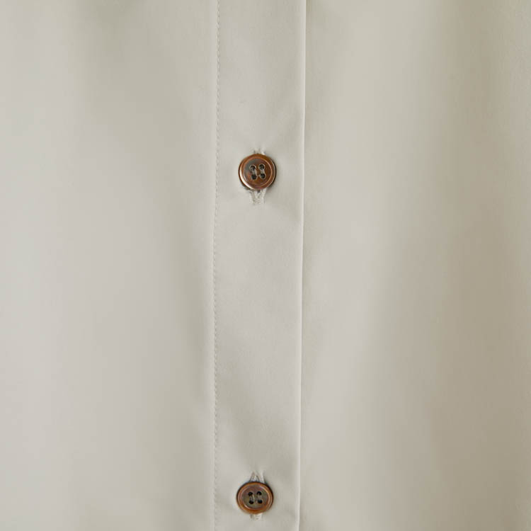 <5月下旬発送予定>【2021SS NEW】Back Over Shirt One-piece
