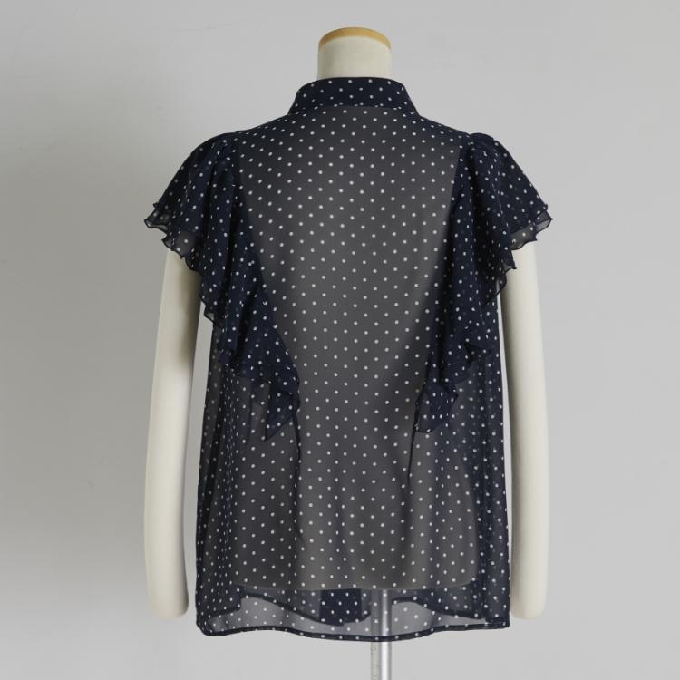 Dot Frill Shirt