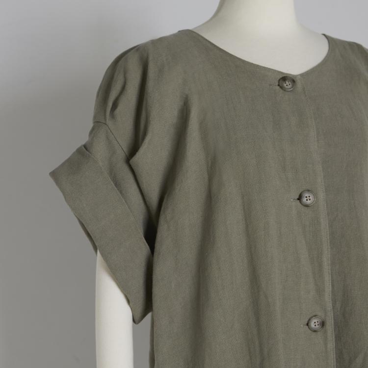 Linen Tuck One-piece