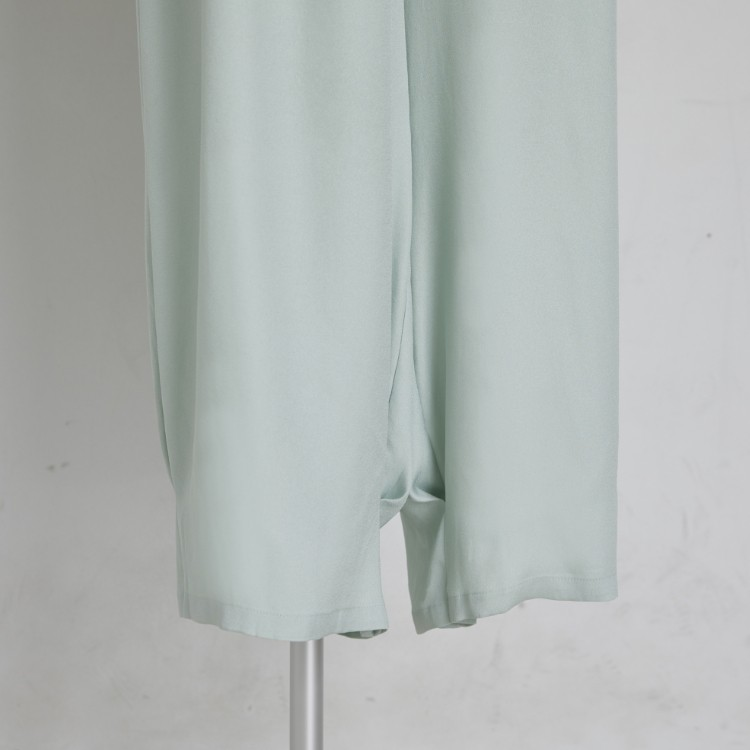 Georgette Tuck Pants