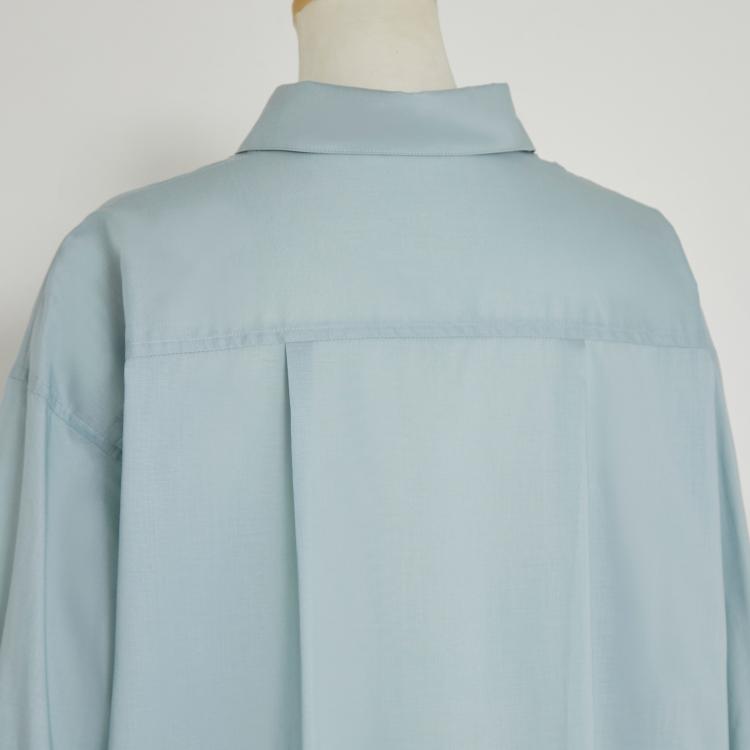 【2021AW NEW】Re Flat Shirt One-piece